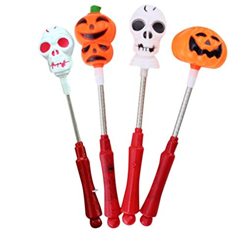 Luminescent Stick Halloween Supplies Props Luminous Pumpkin Shake Bar Palo luminiscente -