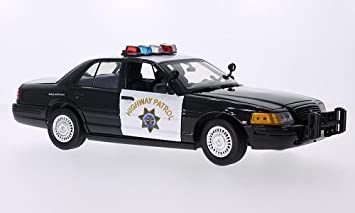1 Autoroute Ford Crown InterceptorCalifornia MiniatureMiniature Patrol2001Voiture Déjà Victoria 18 Police MontéeMotormax yvm8wNn0OP