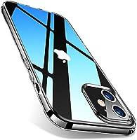 DUXDUCIS iPhone 12 ケース/iPhone 12 Pro ケース 6.1インチ 透明 スリム 軽量 ソフトTPU シリコン クリアケース Qi急速充電対応 iPhone 12/12 Pro 用 カバー クリア (iPhone...