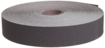 """3M Utility Cloth Roll 211K, Aluminum Oxide, 1-1/2"""" Width x 50yd Length, 100 Grit (Pack of 1)"""