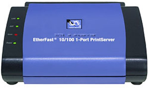 Cisco-Linksys PPSX1 EtherFast 10/100 1-Port PrintServer by Linksys