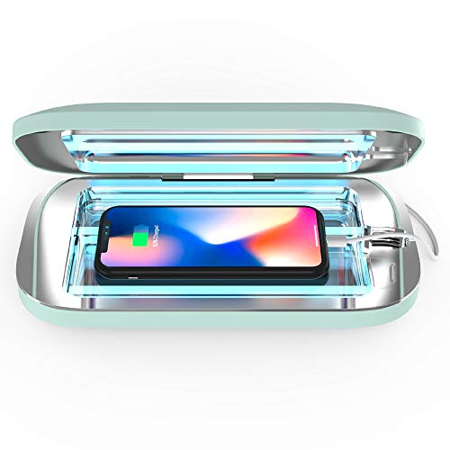 PhoneSoap Pro UV Smartphone Sanitizer & Universal Charger | Patented & Clinically Proven UV Light Disinfector | (Mint)