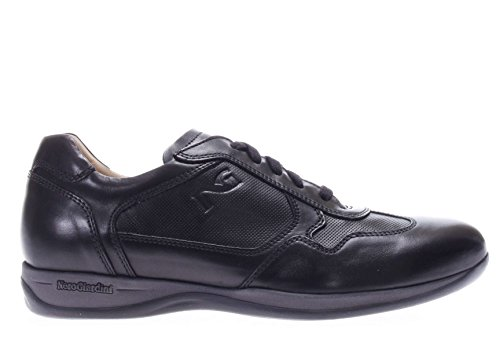 100 Uomo Nero Sneaker Giardini P704760u Pelle In xZFqIwvg