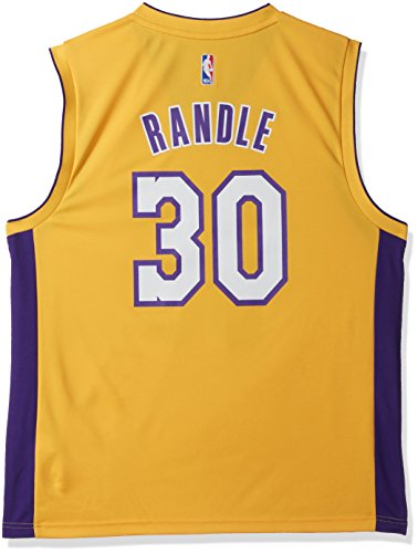 Jersey Lakers Adidas (NBA Men's Los Angeles Lakers El Replica Player Home Jersey, Large, Yellow)