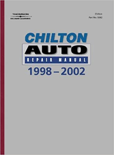 Chiltons auto repair manual 1998 2002 perennial edition chilton chiltons auto repair manual 1998 2002 perennial edition 1st edition fandeluxe Images