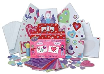 Amazoncom Made By Hands Make Your Own Valentine Cards Toys  Games