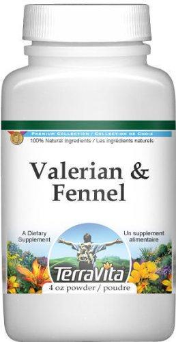 Valerian and Fennel Combination Powder (4 oz, ZIN: 513483)