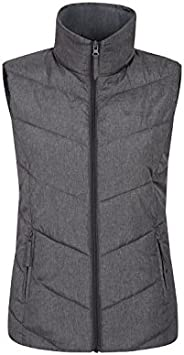 Mountain Warehouse Womens Padded Puffer Vest-Insulated for Winter