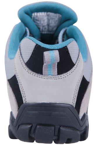 Mountain Warehouse Zapatos de senderismo Belfour para mujer Gris