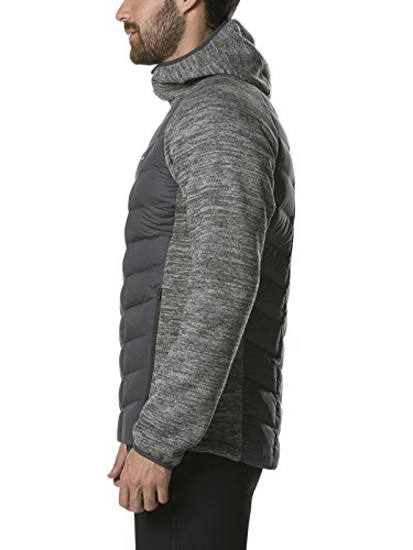 Duneline Gris Chaqueta Oscuro Berghaus Mujer Insulated Hybrid F1SCf