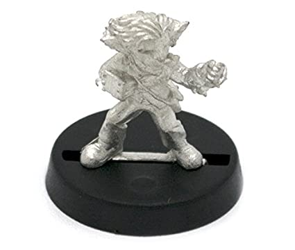 Stonehaven Gnome Monk Miniature Figure (for 28mm Scale Table Top War Games)  - Made in USA