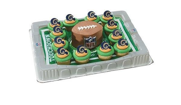 ST. LOUIS RAMS Cupcake plato: Amazon.es: Hogar