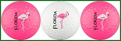 Florida Flamingo Golf Ball Gift Set
