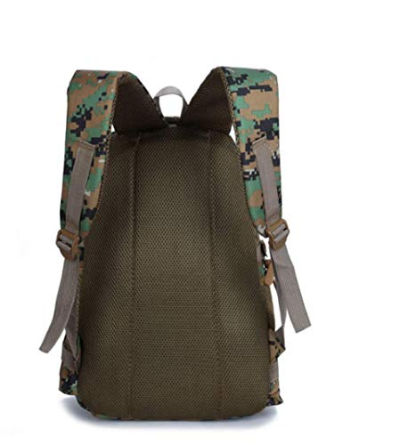 Travel Velcro Green Large Capacity Student Camouflage Bag Women Men Outdoor Sports Handbag School Leisure Picnic Hiking Mountaineering Backpack grey Zhjb Fashion And ZxqP11