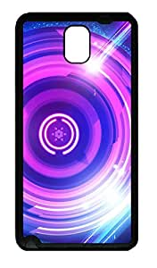 Samsung Galaxy Note 3 N9000 Cases & Covers - Colorful Ring TPU Custom Soft Case Cover Protector for Samsung Galaxy Note 3 N9000 - Black
