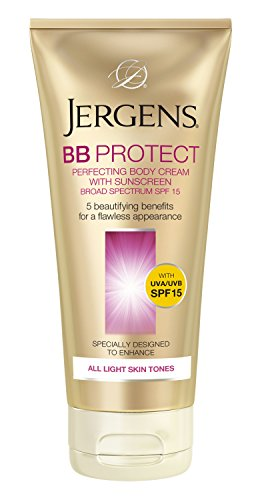 Jergens BB Protect Perfecting Body Cream with Sunscreen Broa