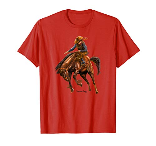 Bucking Bronco Rodeo T-Shirt