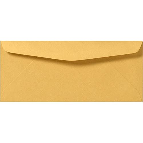 Hot #12 Regular Envelopes (4 3/4 x 11) - 24lb. Brown Kraft (50 Qty.)