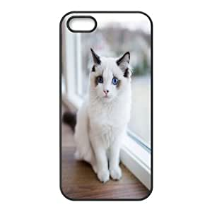Yo-Lin case FXYL252040Cat art pattern protective case cover For Apple Iphone 5 5S Cases