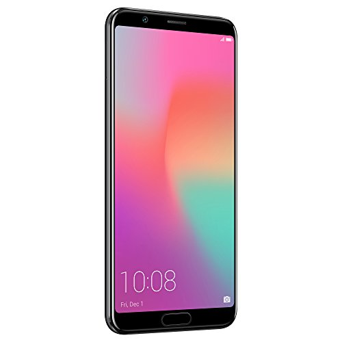 Honor View10 GSM Unlocked Smartphone, AI Processor, 5.99 FullView Display, 20MP + 16MP Dual-Lens AI Camera, Dual SIM 4G, Fast Charging, 6/128 GB, Black (US Warranty)