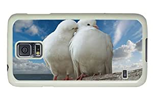 Hipster Samsung Galaxy S5 Case online cases White Doves PC White for Samsung S5