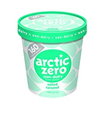 The first of it's kind, Arctic Zero frozen dessert was designed so you can eat the whole pint and not feel guilty. With only 150 Calories per pint, all natural, fat free, gluten free, lactose intolerant friendly, and 14 grams of whey protein ...
