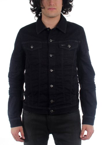 Diesel - Mens Elshar-Ne Giacca Denim Jacket, Size: Small, Color: Denim ()