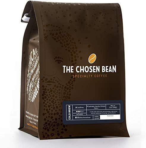 Cold Brew Coffee, Freshly Roasted Organic, Coarse Ground, Premium Beans Chosen for Extra Smooth and bold Flavor, Fair trade, 12 Ounce