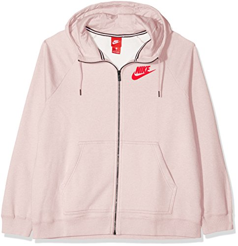 Rose Rosso Ah3973 University Nike Cappuccio Felpa Donna Htr Particle Con PpPxFqCwg