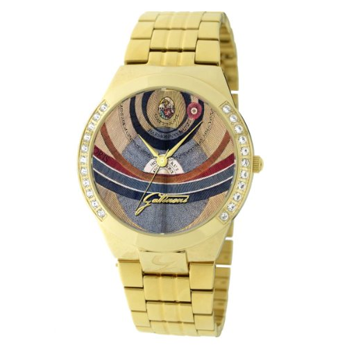 Gattinoni Women's W0198GGGGAT Indus IP Gold Planetarium Zyrcons Watch