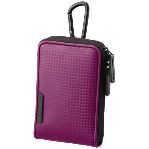 Sony Sporty Carrying Case with Carabineer for Webbie MHS-PM1 & Bloggie MHS-PM5 - Violet