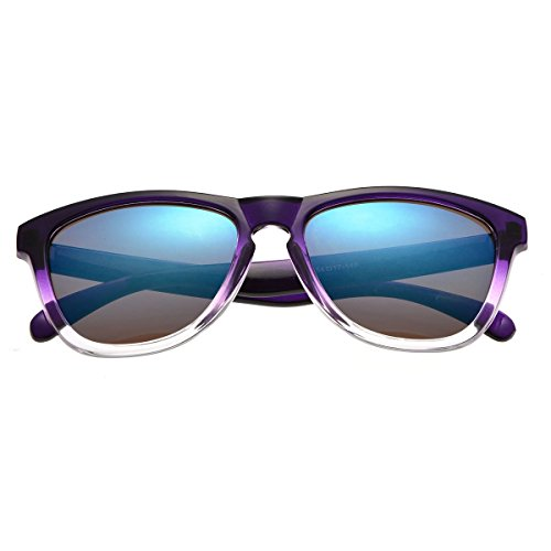 Summer Eyeware 2017-2018 Kids Sunglasses W/Case - Wayfarer for Girls (Purple - 2017 Trends Sunglass Summer