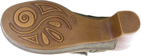 White Mountain Women's Gull Mule Grey sale latest collections SMW3bWcB