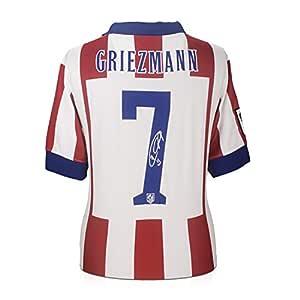 Camiseta de fútbol Atlético de Madrid firmada por Antoine