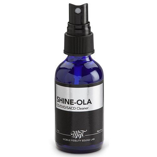 Mobile Fidelity - Shine-Ola Optical Disc Cleaner by Mobile Fidelity