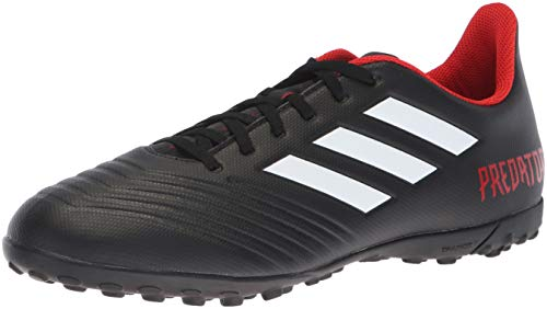 adidas Men's Predator Tango 18.4 Turf Soccer Shoe, Black/White/red, 12 M US ()