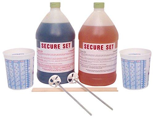 Secure Set Model  SS-4-20 2 GalConcrete Alternative-High Density Polyurethane Post Setting Foam 10 Post Kit