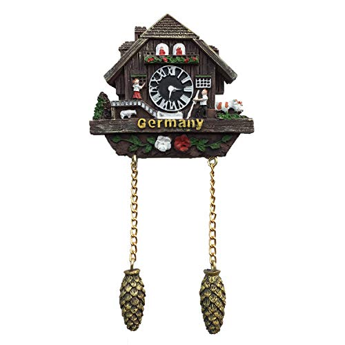 Cuckoo Clock Germany 3D Refrigerator Magnet Travel Sticker Souvenirs,Home & Kitchen Decoration Germany Fridge Magnet from China