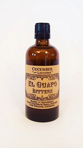 El Guapo Bitters, Bitters Cucumber And Lavender, 100mL 1