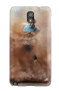 Tpu Case For Galaxy Note 3 With Roger Federer