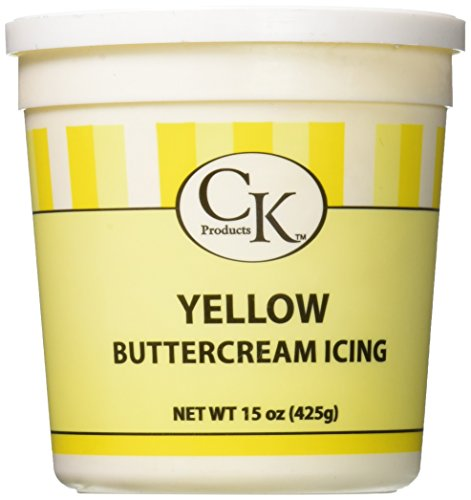 CK Products 77-66051 Buttercream Icing Cake Topper, 15 oz, (Buttercream Icing Butter)