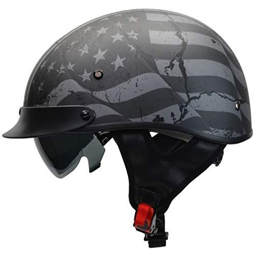Vega Helmets Unisex-Adult's Vega Warrior Half Helmet