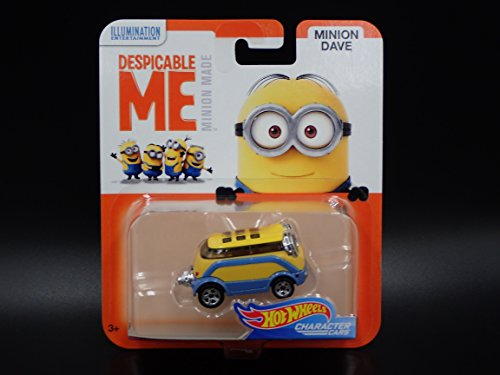 Hot Wheels Minion Dave Despicable ME Minion Made Character Cars]()