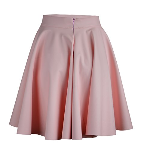 Roban midi Fashion Femme Jupe Trapze Rosa xqBHzZx