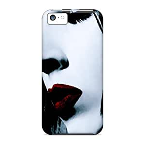 MMZ DIY PHONE CASEProtective Hard Phone Covers For iphone 4/4s With Custom Attractive Marilyn Manson Image JacquieWasylnuk