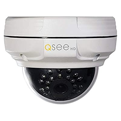 Q-See QT Series QTN8067D HD Fixed Dome Security Camera with 4MP/1080P High Definition IP H.265 from Digital Peripheral Solutions