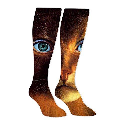 Funny Cat Amazing Stockings Unisex Knee High Sports Long Socks Athletic -