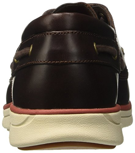 Timberland Bradsteet 3 Eye Sensorflex, Mocassini Uomo Marrone (Brown Pull Up)