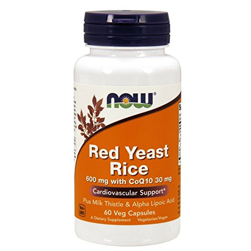 NOW Yeast 600mg CoQ10 Capsules