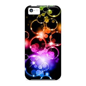 TYHde Iphone 4/4s Case Cover Skin : Premium High Quality Colored Bubble Case ending